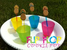 Flip Flop Cookie Pop
