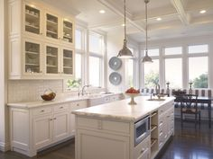White Kitchen/pendants