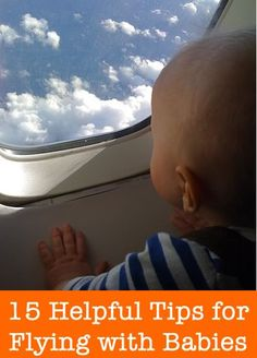 15 Helpful Tips For Flying with Babies
