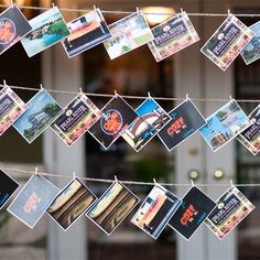 Loving these postcard escort cards! (I'm a sucker for handwritten notes!) Wedding Reception Design, Wedding Table, Wedding Details, Wedding Ideas, Wedding Book, Wedding Themes, Wedding Pictures, Fall Wedding, Wedding Stuff