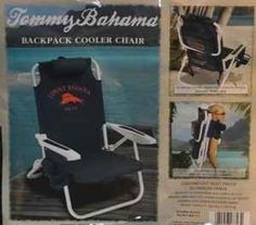 This is what I call a summer essential! Tommy Bahama Backpack Cooler Chair-blue by TOMYY BAHAMA, Shop Other Furniture Top Sellers www.EurikaEmporium.com Home & Garden.