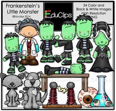 http://edu-clips.com/product/frankensteins-little-monster-clip-art-bundle-color-and-bw/