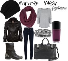 """""""Winter Wear"""" by gingerkidsarax on Polyvore"""