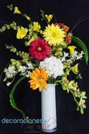 Resultado de imagen para arreglos de flores artificiales en jarrones