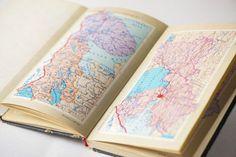 Vintage atlas of USSR hardcover book Soviet political by SovietEra, $12.00