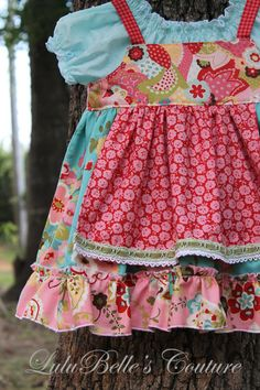 LuluBelle's Couture Shabby Baby Apron Knot by LuluBellesCouture, $35.00