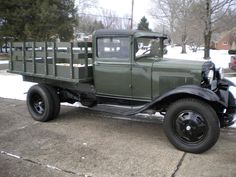 1931 Ford Model AA Stake Bed Truck.