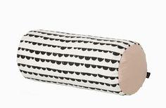 Half Moon Cylinder Cushion (Black)    Ferm Living Shop