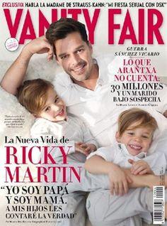 Ricky Martin and his boys!