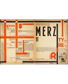 Kurt Schwitters  Grelha, estilo assimétrico, espaço em branco. Design moderno DADA