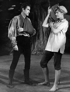 Ian Bannen (Orlando) Vanessa Redgrave (Rosalind)... | Shakespeare Forever