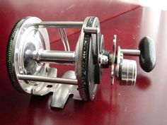 1962 Daisy Heddon Sigma Series No. 409 Stainless Steel Saltwater Baitcasting Fishing Reel