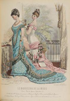Le Moniteur de la Mode, 1878