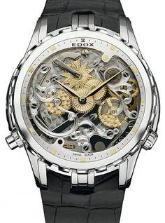 Edox | Cape Horn 5 Minute Repeater | Edelstahl | Uhren-Datenbank watchtime.net