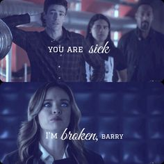 Love this scene, I don't know why... #SnowBarry #TheFlash