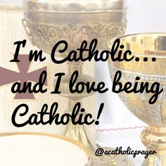 It's great to be Catholic! #quote