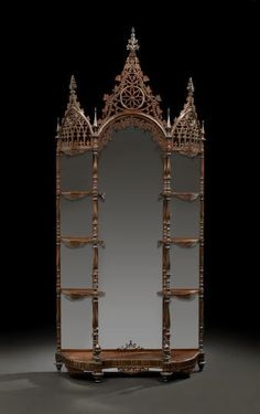 File:Gothic Revival Side Chair, unidentified maker, American, 1845-1865,