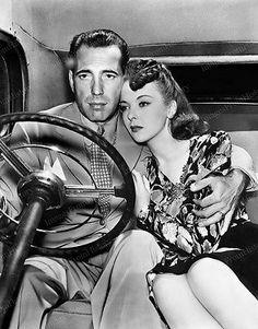 8x10-Print-H-Bogart-Ida-Lupino-They-Drive-by-Night-1940-5436