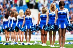 @BHASnappy  Last one from Snappy. @GullysGirls at the start of their routine in their slinky new threads.
