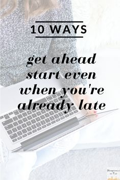 Oh so true! I love the extra detail in here about how she works to get ahead and make progress on her goals and dreams!