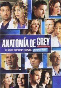 Anatomía de GreyTemporada 8 (Grey's Anatomy8,2011-2012) Acabada de ver en Enro 2013