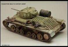Valentine Mk.IV (Ленд-лиз) — Каропка.ру — стендовые модели, военная миниатюра