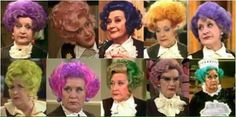 Mollie Sugden as Mrs Slocombe:Are You Being Served?