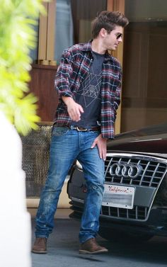 For our mens shirts, I think a checkered shirt, over the graphic tee with blue jeans and cool boots would look great!