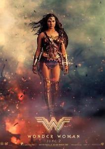 WONDER WOMAN POSTER DC Movie Wall Art Pic Photo Poster A4 A3  | eBay