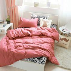 WOT New Zebra Skin Print Black and White Duvet Cover Pillow Case Bedding Set 3 Sizes King