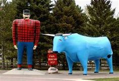 and the Blue Ox