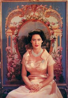 Princess Margaret was the Diana of her day. She was glamorous and had it all in 1956 Duchess Of York, Duke And Duchess, Diana Spencer, Royal Princess, Princess Diana, Queen's Sister, Prinz Philip, Margaret Rose, Royal Life
