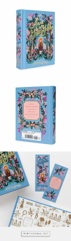 Anne of Green Gables Hardcover Book by RIFLE PAPER Co.
