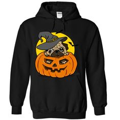Halloween pug dog tshirt T-Shirts, Hoodies. CHECK PRICE ==► https://www.sunfrog.com/Funny/Halloween-pug-dog-tshirt-4500-Black-Hoodie.html?id=41382