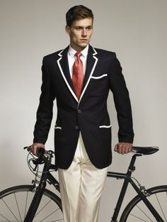 When you ride your bike, you gotta have style!  XD XD