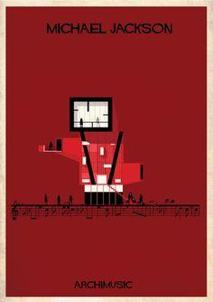 Galería de ARCHIMUSIC: ilustraciones que transforman Música en Arquitectura - 13