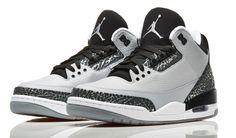 Air Jordan 3 Retro 'Wolf Grey' – Release Info