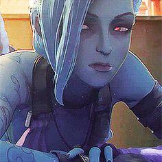 animation league of legends jinx yes good dat lip bite
