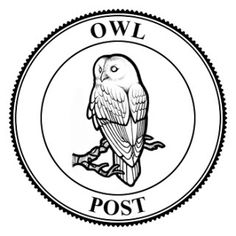 Owl Post Seal BW photo by Viurre | Photobucket