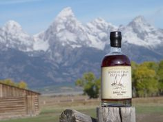 New Zealand Single Malt Whiskey in the mountains of New Zealand. What could be better?