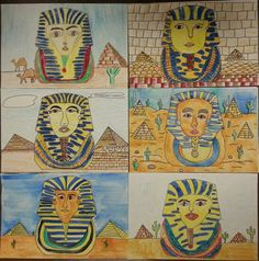 Egypt Art lesson plan