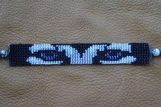 bead weaving patterns for bracelets Beaded Hat Bands, Beaded Braclets, Bead Loom Bracelets, Beaded Jewelry, Loom Bracelet Patterns, Bead Loom Patterns, Weaving Patterns, Mosaic Patterns, Jewelry Patterns