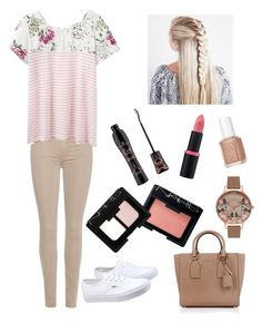 """Spring Feeling"" by lovestyle02 on Polyvore featuring Mode, Vans, 7 For All Mankind, Joules, Olivia Burton, Michael Kors, Essence, Essie und NARS Cosmetics"