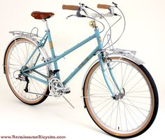 This is the kind of bike I like, hubs....vintagey with straight lines.