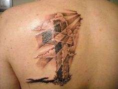 1000 images about tattoos on pinterest crosses gemini for Old rugged cross tattoo designs