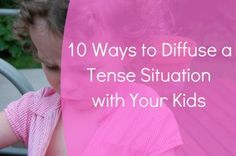 The hairiest moments with our kids can often be diffused more easily than we think! Below are 10 Ways to Defuse a Tense Situation with your Kids. *Author Note* These suggestions are not meant to r… Peaceful Parenting, Gentle Parenting, Parenting Articles, Parenting Advice, Train Up A Child, Kids Behavior, Kids Corner, Raising Kids, Our Kids