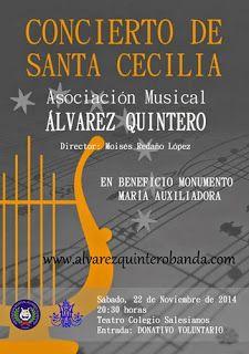 COFRADES DE ARAHAL: Concierto de la Asoc. Musical Álvarez Quintero en ...
