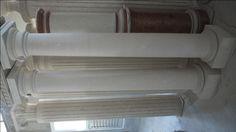 Column in stone - http://achillegrassi.com/en/project/colonne-stile-dorico-in-pietra-bianca-di-vicenza-2/ - Doric column in white stone from Vicenza Dimensions:  250cm x 40cm x 40cm