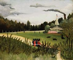 Henri Rousseau's kind of Greens.