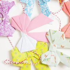 guirnaldas de origami - Buscar con Google